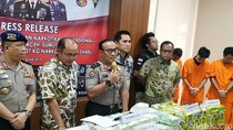 Polisi dan Bea-Cukai Sita 137 Kg Sabu Asal Malaysia