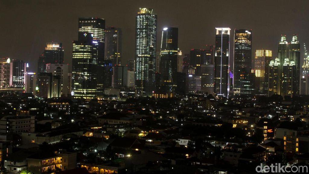 Penampakan Pencakar Langit di Ibu Kota