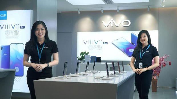 Buat Panggung Terapung Terbesar, Peluncuran Vivo V15 Raih Rekor MURI