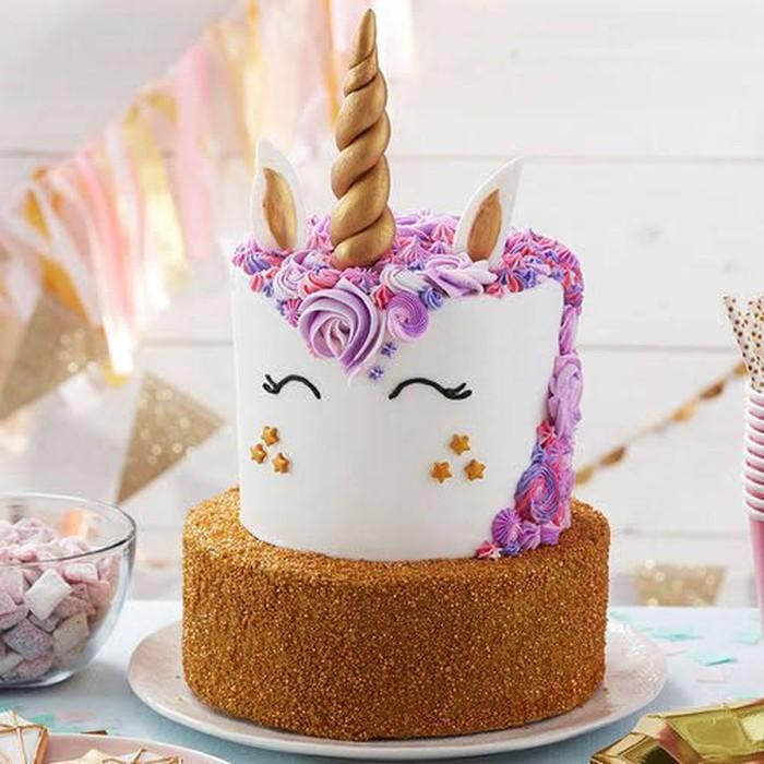 Pesan Kue Ulang Tahun Bentuk Unicorn Hasilnya Malah Bikin
