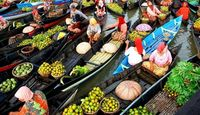 Serunya Belanja di 5 Pasar Apung di Asia, Salah Satunya Indonesia
