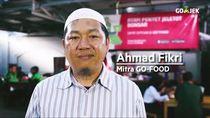 Go-Food Bantu Penjual Ayam Geprek Naik Kelas