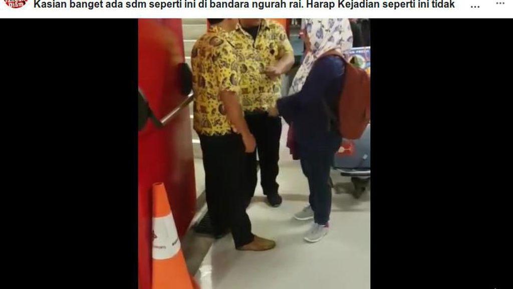 Viral di Facebook, Emak-emak Ribut dengan Sopir di Bandara Ngurah Rai