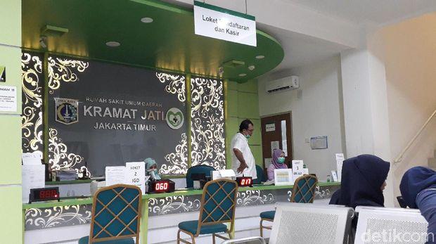 Pelayanan di RSUD Kramat Jati Jakarta Timur.