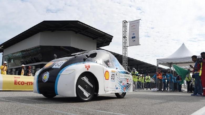 Tim Antasena, mobil hemat energi besutan Institut Teknologi Sepuluh Nopember (ITS) Foto: dok.ITS