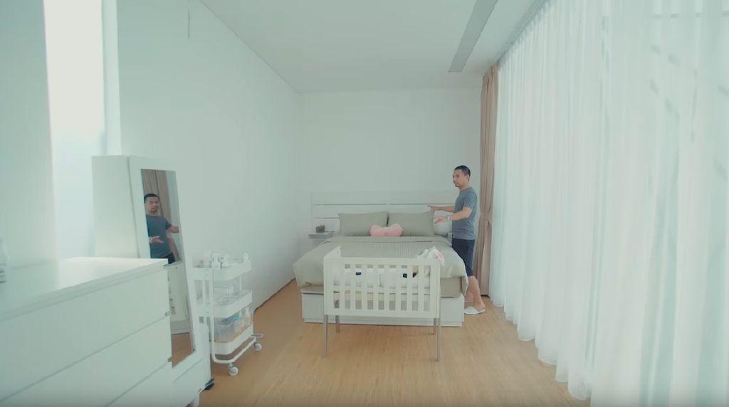 Bayi Raditya Dika Lahir, Intip Kamarnya yang Minimalis Sederhana