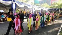 Mendikbud Apresiasi Barisan Bhinneka Tunggal Ika di Hardiknas 2019