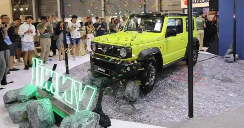 Suzuki Jimny. Foto: Paultan