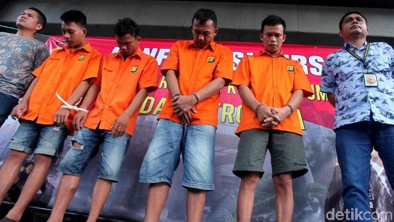 Begini Tampang Komplotan Pencuri Motor di Tangerang