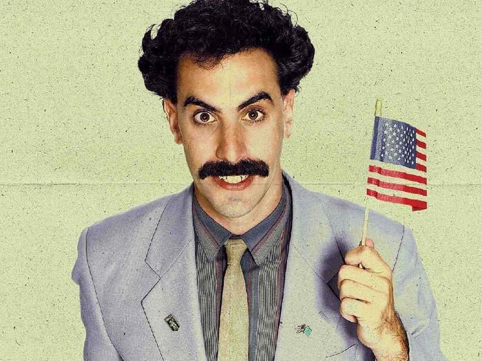film Borat dibintangi Sacha Baron Cohen