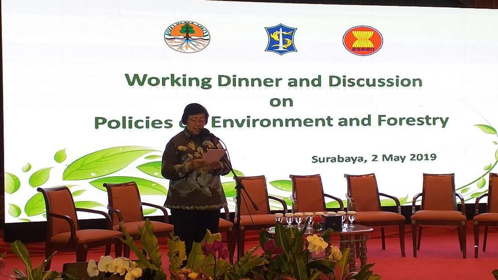 KLHK Gelar Diskusi Bareng Para Dubes ASEAN Bahas Persoalan Sampah