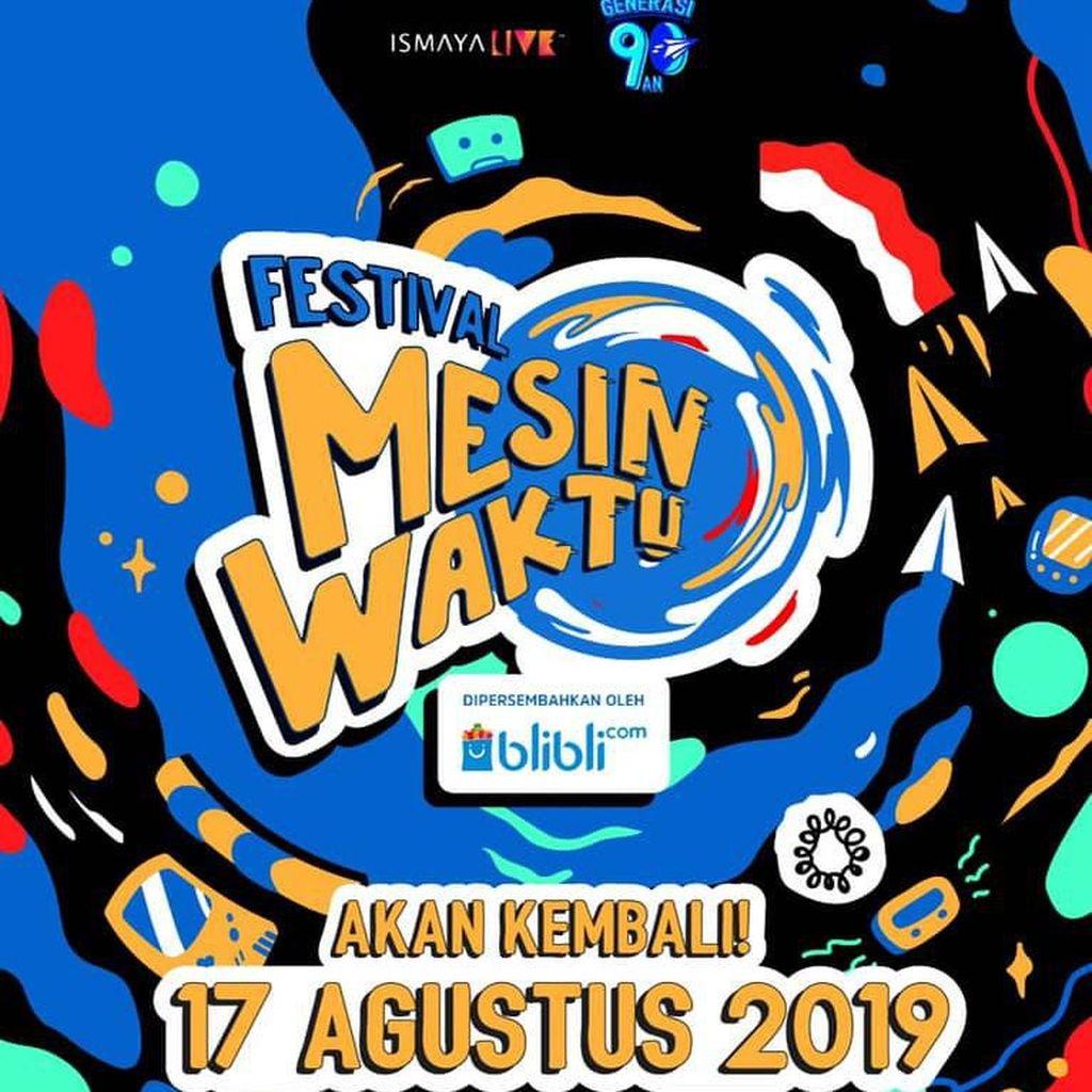Rida Sita Dewi Reunian di Festival Mesin Waktu
