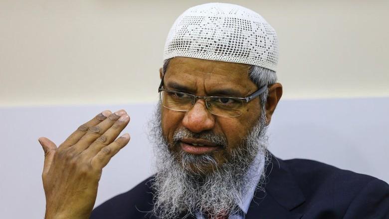 Ulama Kontroversial Zakir Naik Dituduh Lakukan Pencucian Uang Rp 400 M