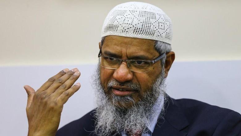 Zakir Naik Tetap di Malaysia, Tapi Tak Boleh Lagi Bersuara