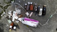 Limbah Medis Bertebaran di Sawah, Warga Desa Abang Bali Resah