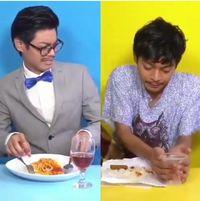 Bikin Ngakak Kocaknya Selebgram yang Tunjukkan Gaya Makan
