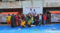 Jokowi Menang Versi QC, Pedagang Pasar Induk Cibitung Gelar Syukuran