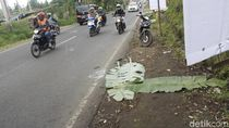 Seorang Pengendara Motor Tewas di Jalur Wisata Lembang