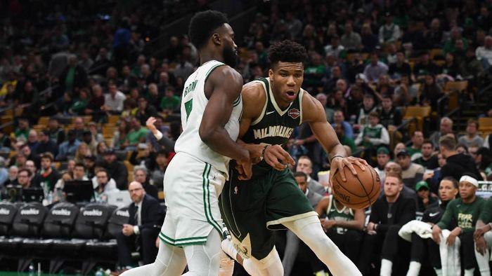 Boston Celtics dikalahkan Milwaukee Bucks di gim ketiga Playoff NBA (Bob DeChiara-USA TODAY Sports)
