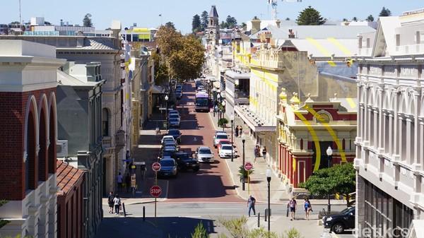 Fremantle di Australia Barat adalah kota pelabuhan yang menawan dengan waktu kunjungan terbaik Oktober atau November saat Festival Fremantle (Ahmad Masaul Khoiri/detikcom)