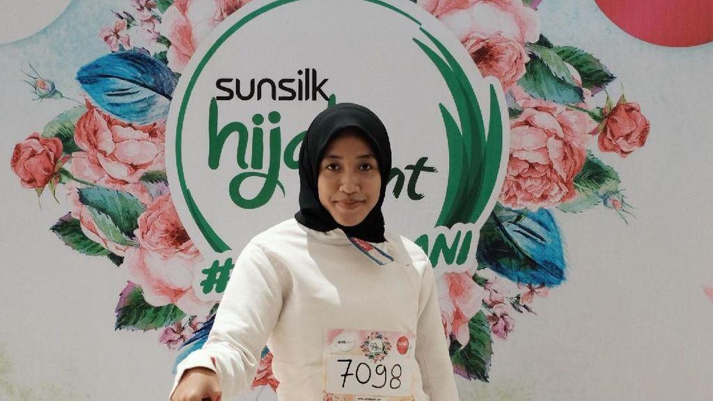 Aksi Atlet Anggar Berhijab Pukau Juri Sunsilk Hijab Hunt 2019 Jakarta