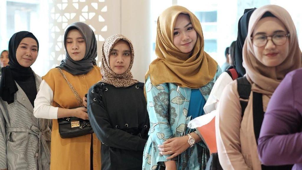 Belum Dibuka, Peserta Sunsilk Hijab Hunt 2019 Jakarta Sudah Antre Mengular