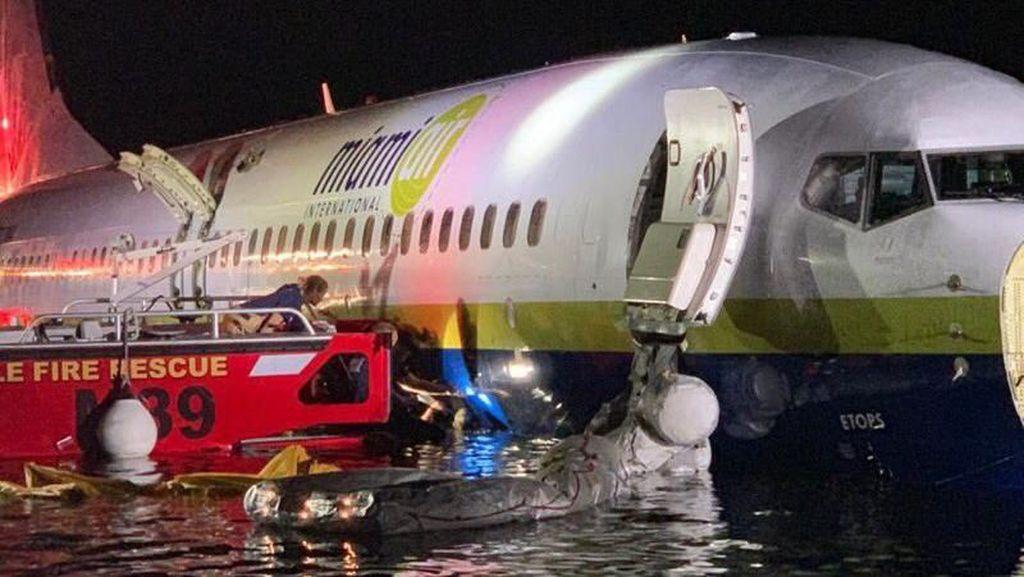 Tragedi Boeing 737: Diterjang Badai hingga Tercebur ke Sungai