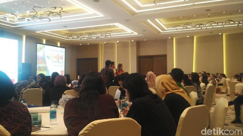 Suasana acara Roadshow Pariwisata Vietnam di Jakarta (Wahyu/detikcom)