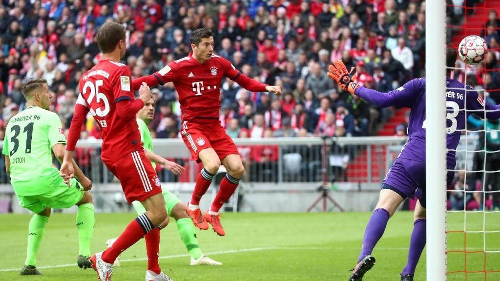 Hasil Liga Jerman: Kalahkan Hannover 3-1, Bayern Kukuh di Puncak Klasemen