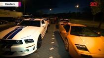 Polisi Jerman Sita 122 Mobil Mewah Gegara Balapan Liar