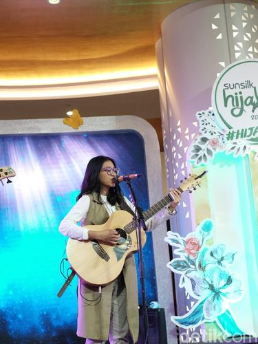 Serunya Peserta Sunsilk Hijab Hunt 2019 Nyanyi Bareng Endah N Resha