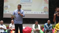 Tutup #BacaJakarta, Anies Baca Dongeng Gara-gara Piko