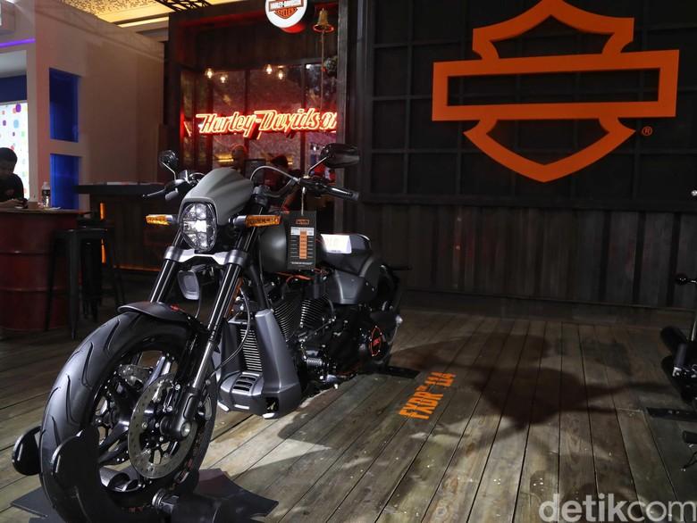 Ilustrasi Harley-Davidson Foto: Pradita Utama