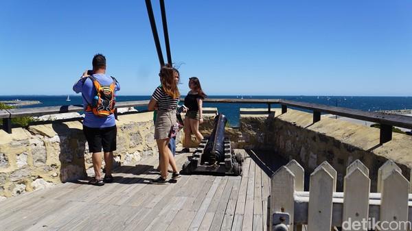 Setelah tidak lagi digunakan sebagai penjara, Roundhouse kemudian digunakan sebagai fasilitas penyimpanan untuk Pelabuhan Fremantle (Ahmad Masaul Khoiri/detikcom)