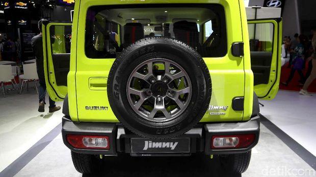 Suzuki Jimny di ekspo IIMS 2019