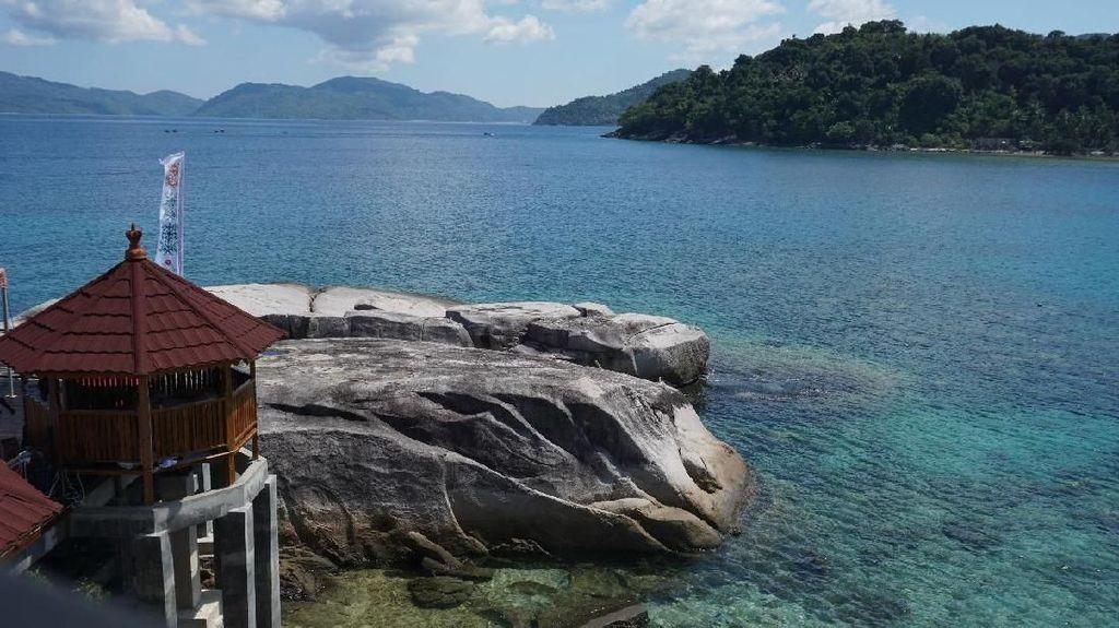 Keindahan Kepri Coral Bikin Agen Travel Filipina Kagum