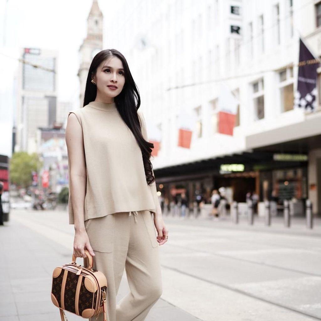 Hamil Anak Kedua, Sandra Dewi Tidur Terus