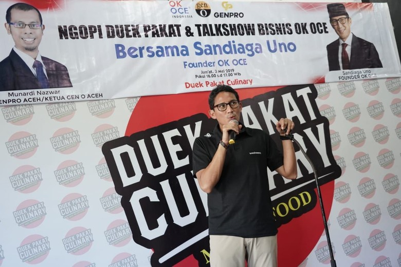 Sandiaga: Budaya Aceh Redam Gempuran Kopi Jaringan Internasional