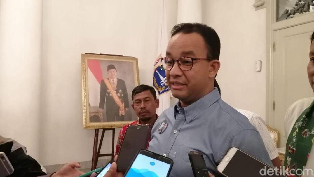Anies Sebut Pembangunan Tetap Jalan dengan atau Tanpa Ibu Kota di DKI
