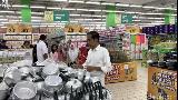 Jelang Ramadhan, Jokowi Ajak Iriana Ngemal ke Botani Square