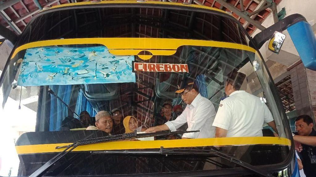 Menhub Temukan Bus Bermasalah di Terminal Mangkang