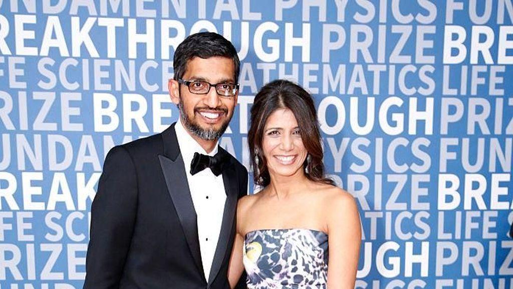 Kisah Cinta CEO Google dari India, Nikah dari Nol Hingga Dapat Rp 7 M Sehari