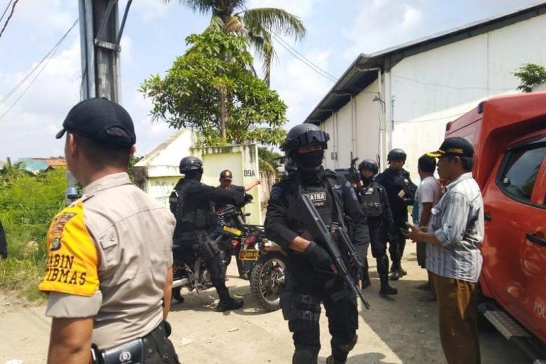 Fakta-fakta Penangkapan Teroris Kelompok JAD Lampung di Bekasi