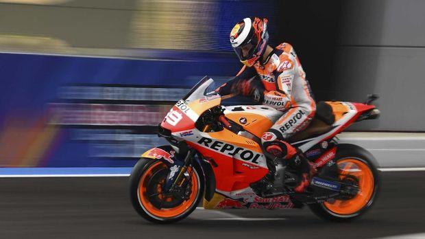 Jorge Lorenzo mendapat sorotan usai MotoGP Catalunya.