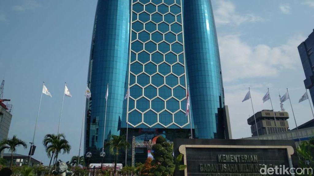 Bos Telkom Merapat ke Kantor Erick Thohir, Apa yang Dibahas?