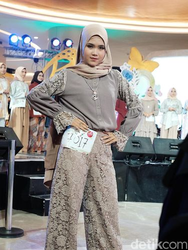 Cantiknya Peserta Sunsilk Hijab Hunt 2019 Pakai Baju Karya Ivan Gunawan