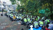 Tradisi Munggahan Sambut Ramadhan ala Polisi, Cucurak-Gowes Bareng Ulama
