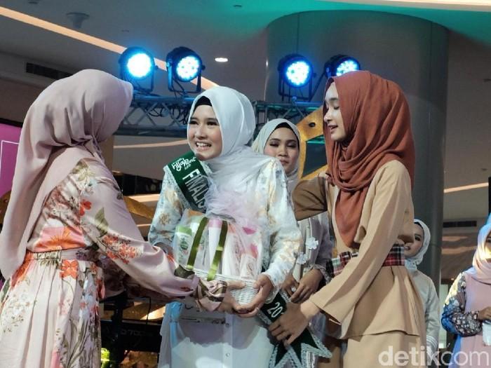 Juara audisi Sunsilk Hijab Hunt 2019 Jakarta. Foto: Silmia Putri/Detikcom