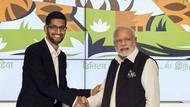 Sundar Pichai Jadi CEO Alphabet Bikin Bangga India, Tapi...