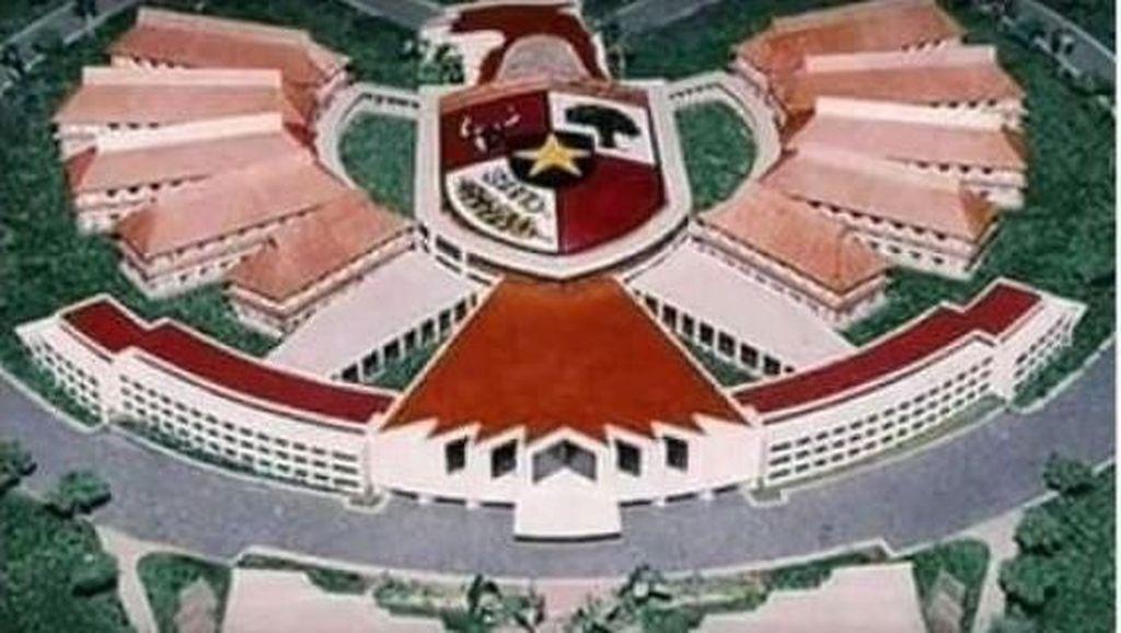 Beredar Hoaks Desain Istana Negara di Palangka Raya